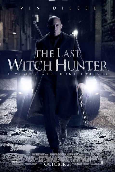 The Last Witch Hunter- poster 1