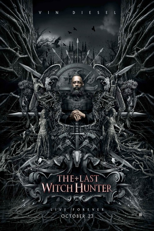 The Last Witch Hunter- poster 2