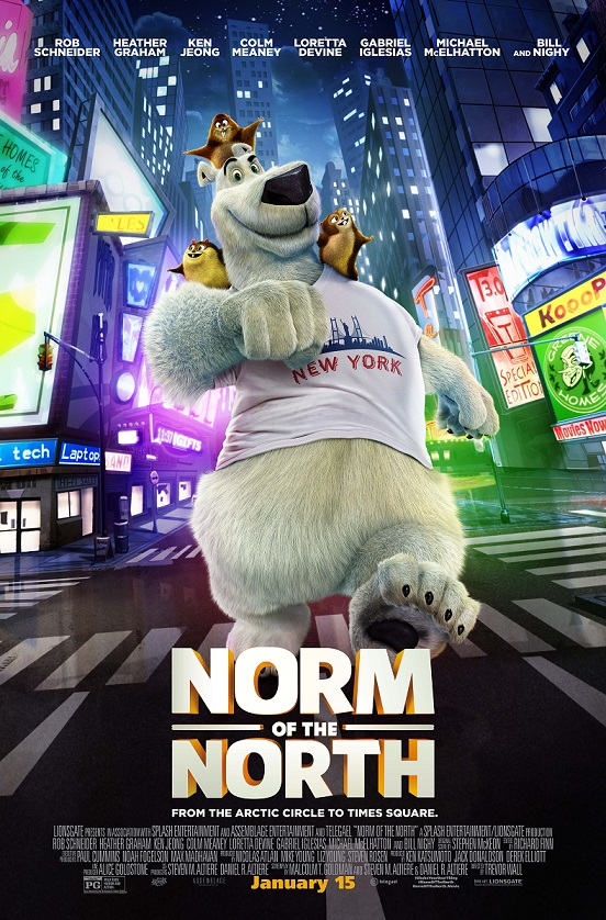 Norm of the North--NY poster