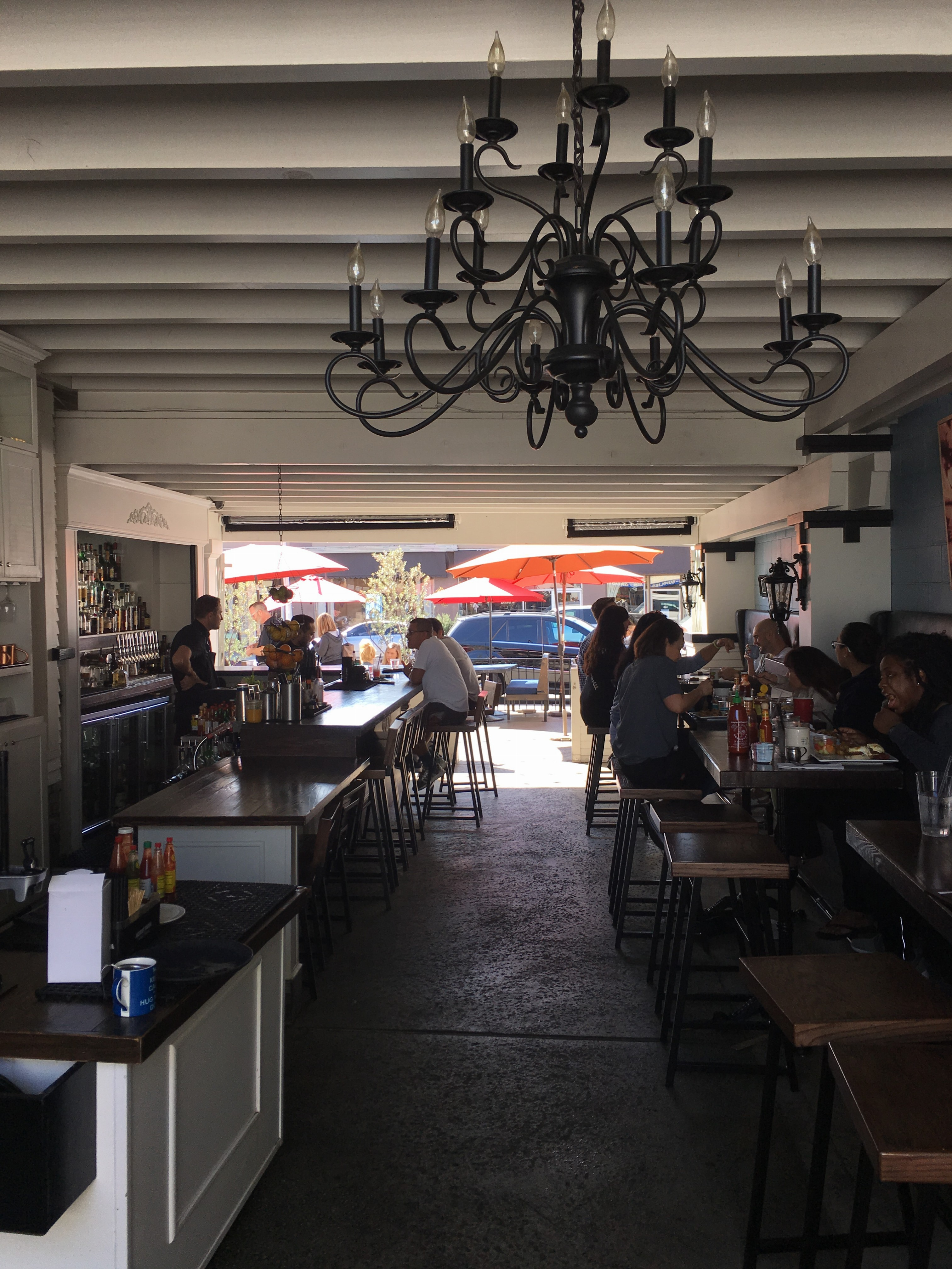 The Attic On Broadway Is A Restaurant That Sits Inside 1920s Era Craftsman Cottage Owned By Steve Mis And It One Of Few Places In Long Beach